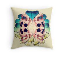 The Human Virus Throw Pillow