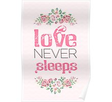 Love never sleeps Poster