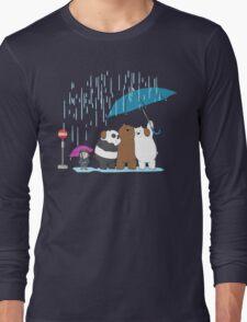 my neighbours the bare bears Long Sleeve T-Shirt