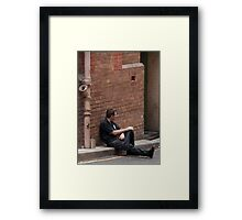 Chef's Break #2 Framed Print