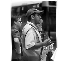 The Big Issue Seller - Brisbane CBD Poster