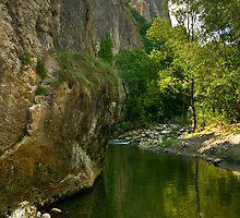 paradise mountain landscape by katta