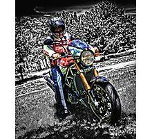 Ducati Style Photographic Print