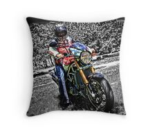 Ducati Style Throw Pillow