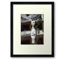 Know that I am thinking of you always Framed Print