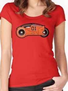 Dukes of The Grid Women's Fitted Scoop T-Shirt