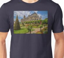 France. Bourges. Cathedral & Garden. Unisex T-Shirt