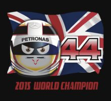 LEWIS HAMILTON_2015_World Champion_Helmet Kids Tee