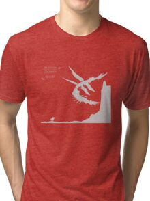 Shadow of The Colossus: Phalanx Tri-blend T-Shirt