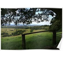 From The Hills Near Byron Bay Poster