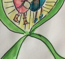Kidneys ribbon awareness Sticker