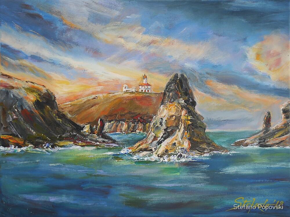 Colombretes Island III by Stefano Popovski