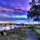 Sundown at Batemans Bay by Leigh Monk