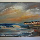 Autumn Evening, Birling Gap by Eve Monteiro