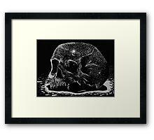 Engraving Framed Print