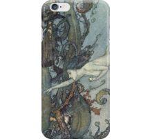 Gothic Mermaid Fantasy  iPhone Case/Skin