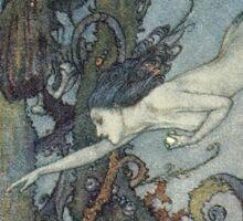 Gothic Mermaid Fantasy  Sticker