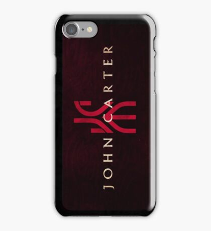John  Carter iPhone Case/Skin