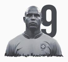 Ronaldo Luis Nazário de Lima One Piece - Short Sleeve