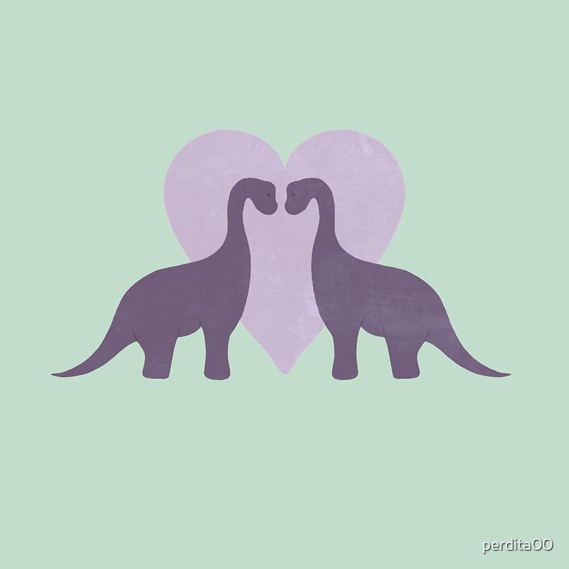 Prehistoric Love sans text by perdita00