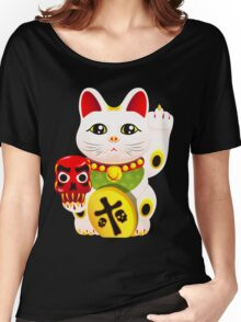 Maneki neko f u Women's Relaxed Fit T-Shirt