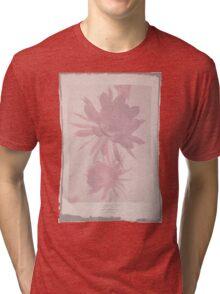 Doctor Who Flower Bloom t-shirt Tri-blend T-Shirt