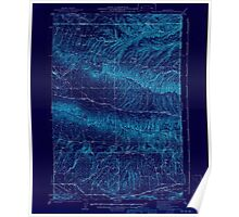 USGS Topo Map Washington State WA Black Rock Spring 240084 1941 62500 Inverted Poster