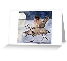 Tango in the Moonlight Greeting Card