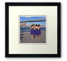The marvelous light of youth.  NYC Framed Print