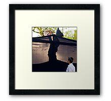 chabad NYC Framed Print