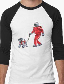 A Robot's Best Friend Men's Baseball ¾ T-Shirt