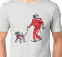 A Robot's Best Friend Unisex T-Shirt