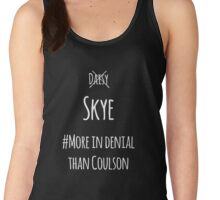 Her Name Is Skye!! (White) Women's Tank Top