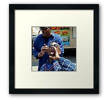 The great voice NYC Framed Print