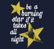 Be a burning star  by nimbusnought