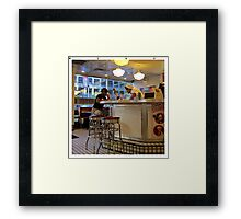 It is real. It is something about love, passion and happiness.  NYC  Framed Print