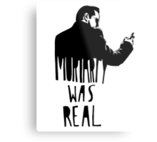 Moriarty Was Real(ly a Print) Metal Print