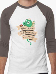 When I Grow Up...  Men's Baseball ¾ T-Shirt