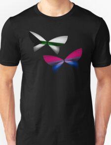 Demiromantic Bi Pride Butterflies T-Shirt