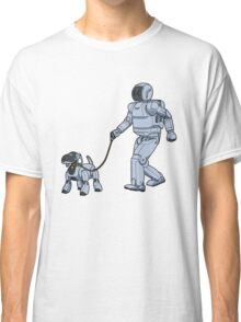 A Robot's Best Friend Classic T-Shirt