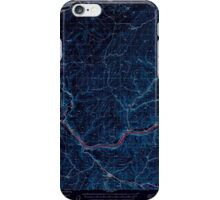 USGS Topo Map Washington State WA Starbuck 244006 1950 62500 Inverted iPhone Case/Skin