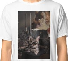 Steampunk Sid Kitten Overlord Classic T-Shirt
