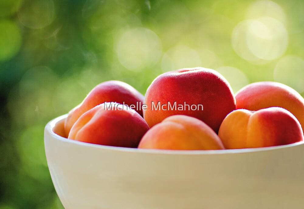Apricots.. by Michelle McMahon