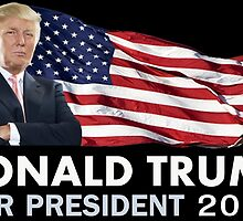 Donald Trump For President by ESDesign
