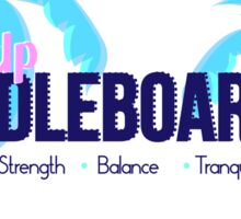 SUP Strength Balance Tranquility  Sticker