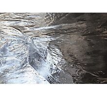 Light on Frozen Pond Photographic Print