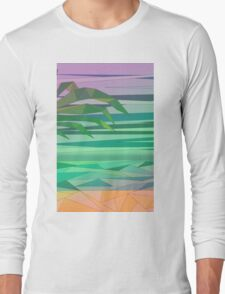 dream island in the middle of the ocean T-Shirt