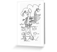 Baby on board. Greeting Card
