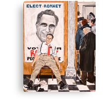Romney's Fate: Election 2012 Canvas Print