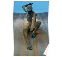 Man sculpture  Poster